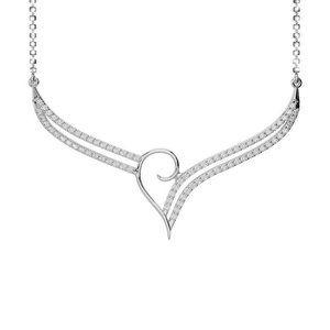 Chain necklace round brilliant cut 2.00 ct diamond